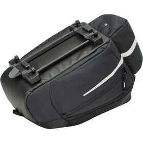 VAUDE Silkroad Bagagedrager Tas L Snap-It, zwart